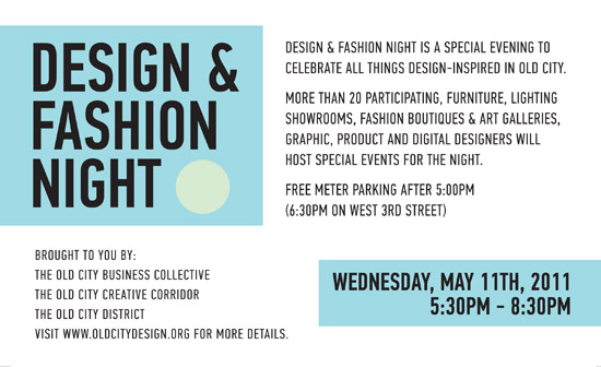 Fashion Night Flyer